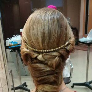 Peinado de novia clásico