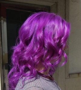Color de pelo fantasia buganvilla